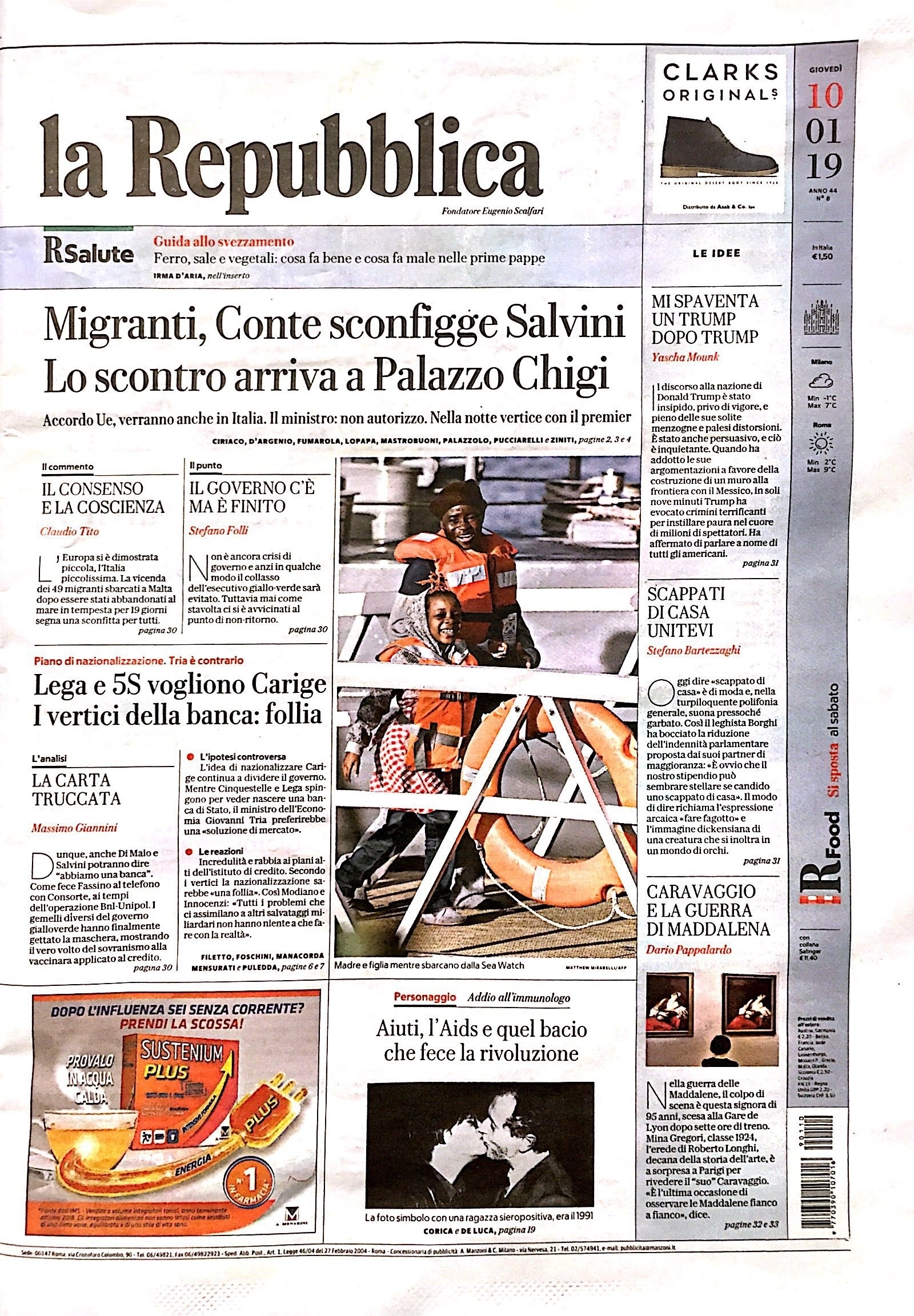 La Repubblica January 2019