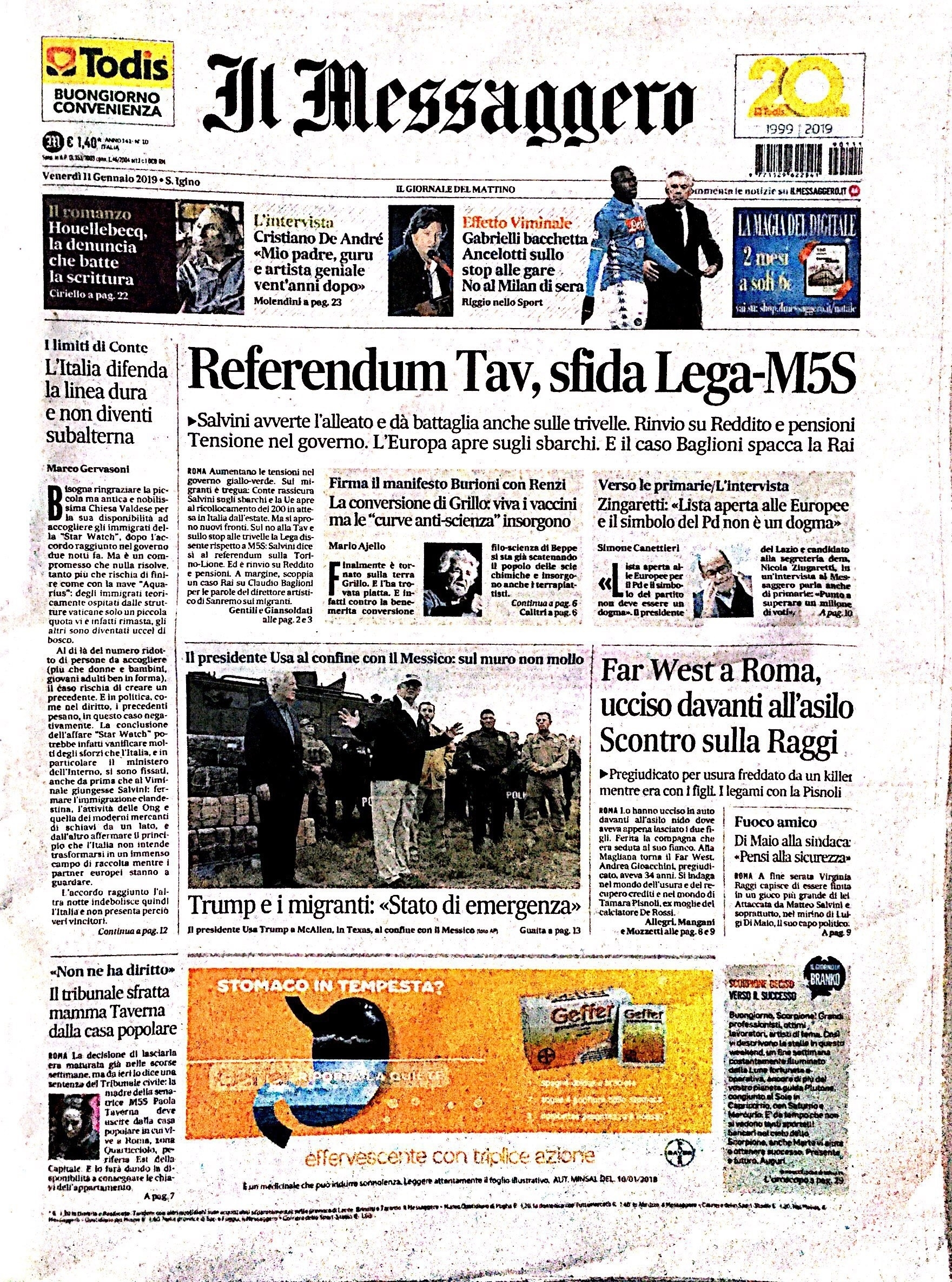 Il Messaggero January 2019
