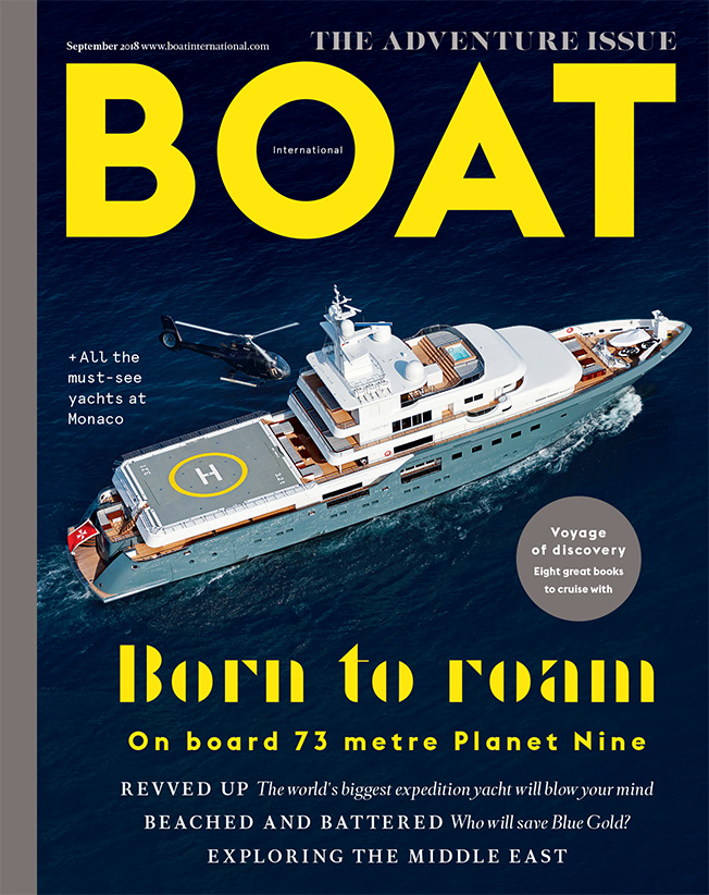 Boat International August 2018